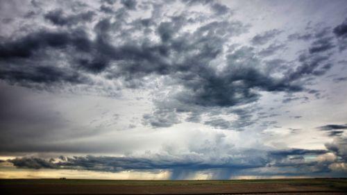 debesys, puiki & nbsp, lyguma, Kanzasas, midwest, nebraska, Oklahoma, lygumos, audros, perkūnija, kelionė, audros lygumose