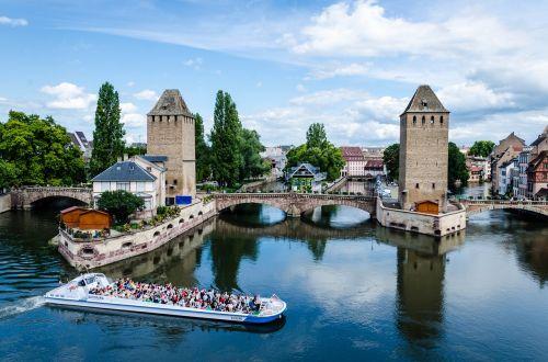 Strasbourg,france,Europa,architektūra,Petit France,kapital de noel