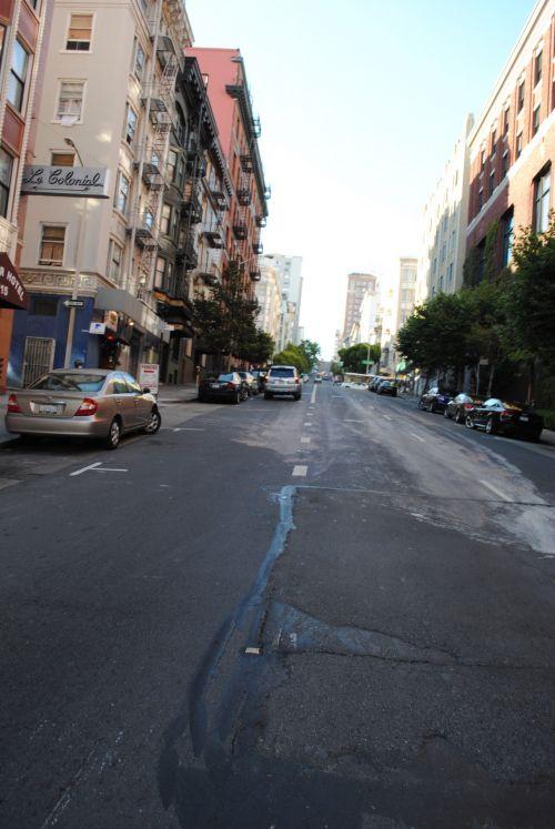 gatvė, automobiliai, dangas, miestas & nbsp, gatvė, San & nbsp, francisco, gatvė