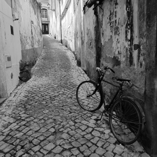 gatvė,dviratis,paprastumas,važiuoti,paprastas gyvenimas
