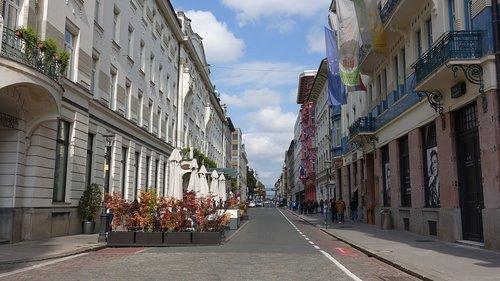 Gatvė, Miestas, struktūra, pakavimo, Slovėnija, Liubliana piranijų