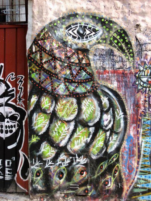 grafiti, menas, gatvė, menas, gatvė, menas, dažyti, spalvos, gatvės menas ba 1