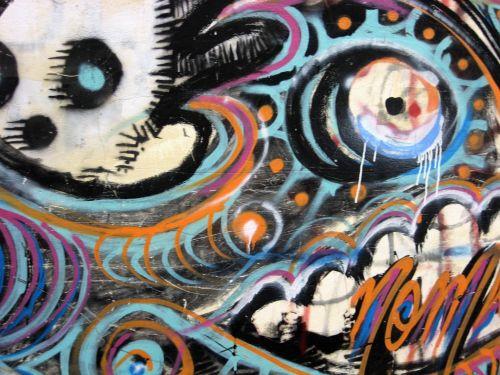 grafiti, menas, gatvė, menas, gatvė, menas, dažyti, spalvos, gatvės menas ba 2