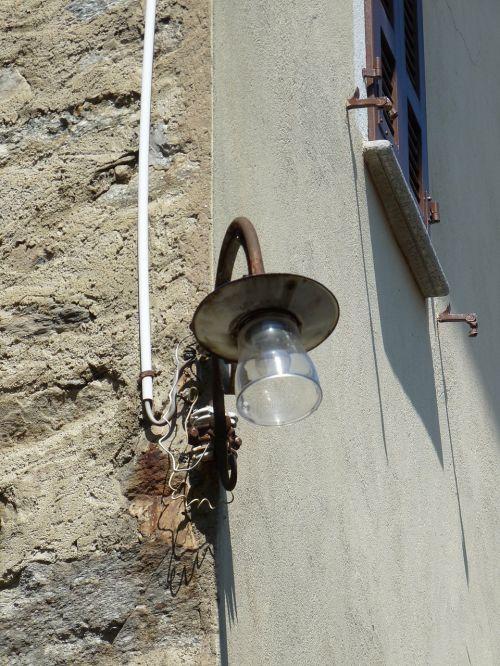 Gatvės Lempa, Šviesa, Kaimo Apšvietimas, Ticino