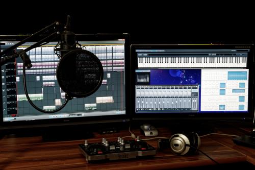 studija,muzika,maišytuvas,garsas,valdytojas,muzikos studija,įrašymas,garso maišytuvas,mikrofonas,garso studija,pc,programinė įranga,nešiojamojo kompiuterio,nešiojamas kompiuteris,dj