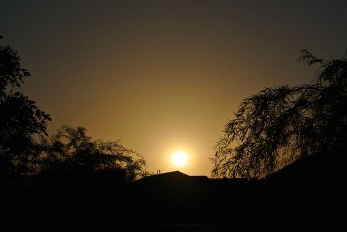 kraštovaizdis, saulėtekis, dykuma, priemiestyje saulėtekis 102