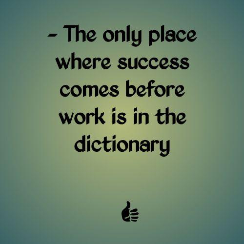 citata, sėkmė, anksčiau, darbas, žodynas, tekstas, išmintis, pranešimas, tiesa, žalias, gradientas, fonas, sėkmė prieš darbą