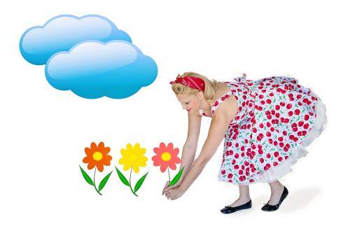 vasara,vasara,gėlės,skintos gėlės,gėlių sodas,graži moteris,laimingas,vasaros laikas,saulėtas
