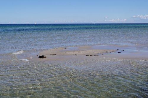 vasara, papludimys, jūra, atostogos, paplūdimys jūra, saulė, prie jūros, Patys paplūdimys, Baltijos jūra, smėlio paplūdimys, tuščias paplūdimys, Dune, smėlis, gražūs paplūdimiai, vandens, gamta
