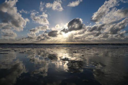 saulė,papludimys,st peter obi,Baltijos jūra,jūra,romantika,twilight,vasara,atgal šviesa,saulė ir jūra,Šiaurės jūra,saulėlydis,kranto,veidrodis,dangus,romantiškas,vandenynas,atspindys,wadden jūra,vakarinis dangus,saulės spindulys