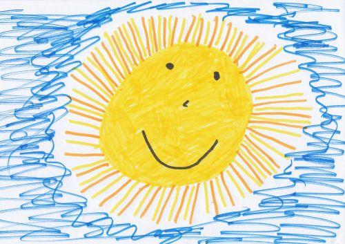 saulė,vaikų piešimas,vaizdas,piešimas,dažyti,vaikų paveikslėlis,darželis,Flomasterio tipo rašiklis,veltinio rašiklio piešimas,juodos spalvos pieštuko vaizdas,vaikas,saulėtas,draugiškas,šviesus,atkreipti,pragaras,vasara