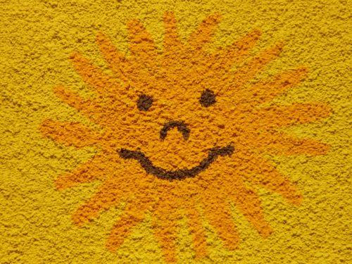sun sunny face