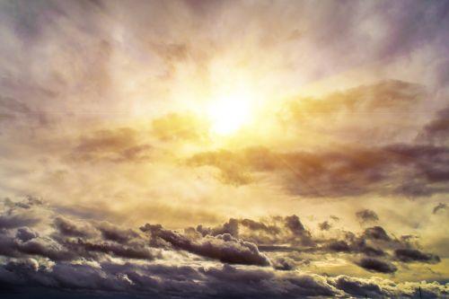 saulė,debesys,spinduliai,dangus,šviesa,atgal šviesa,saulės spindulys,debesų formavimas,saulės šviesa,dramatiškas,dusk,twilight,oranžinė,geltona