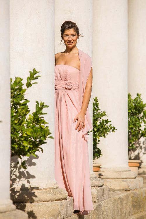 saulėtas,moteris,mergaitė,suknelė,rožinis
