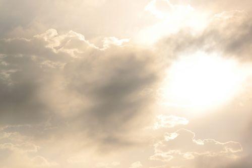 Saulėtas, Debesys, Migla, Dienos Šviesa, Atmosfera, Oras, Oras