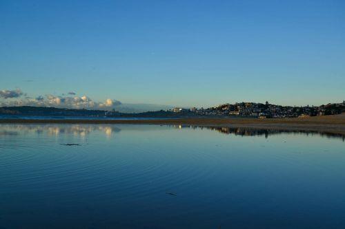 saulėtekis,Curl Curl,Sidnėjus,australia,atspindys,papludimys,vandenynas