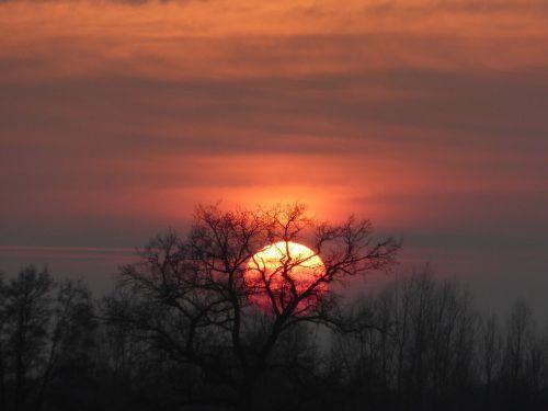 saulėlydis,kraštovaizdis,išorinis