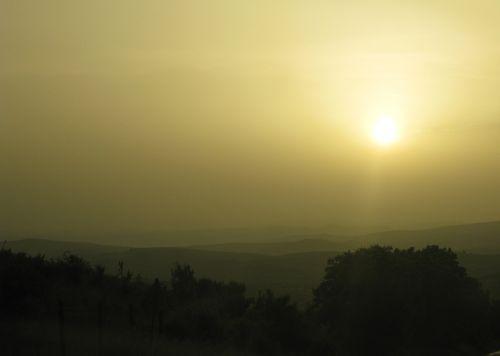 saulėlydis,vakare,kraštovaizdis,saulė,kalvos,kraštovaizdžio vakaras,saulėlydžio kalnai,saulės kalvos