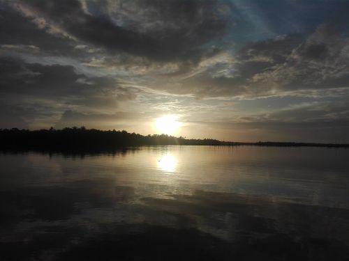 saulėlydis,kerala,upė