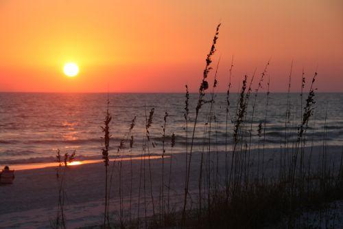 saulėlydis,papludimys,dangus,vanduo,dusk,paplūdimio vakaras,vandenynas,vakaras