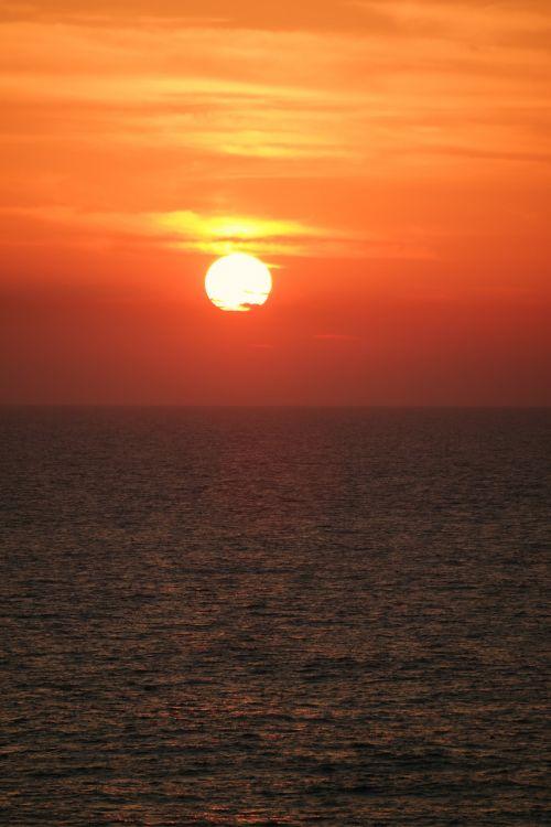 saulėlydis,jūra,abendstimmung,romantika,afterglow,farbenspiel