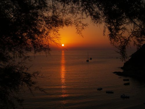 saulėlydis,jūra,vasara