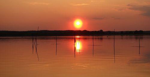 saulėlydis,Neustrelitz,abendstimmung