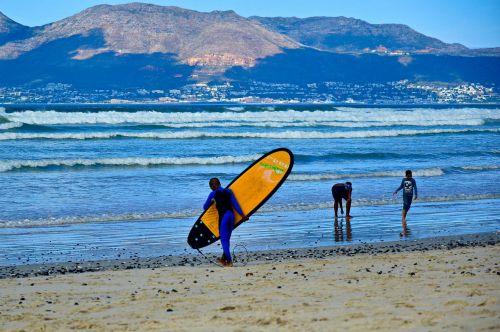 banglenčių sportas,muizenberg,banglenčių kampelis,bangos,papludimys,pietų Afrika,Cape Town,surfer,banglentė,vandens sportas,vasara