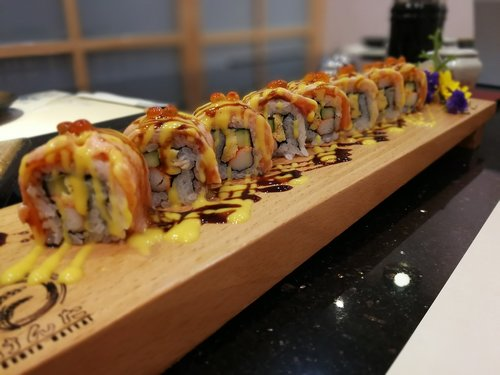 Sushi, Japonija, Japonų maistas, Japonijos, maisto, lašiša, ryžių, Roll, skanus, valgyti, restoranas, šalis Japonija, Wasabi, sashimi