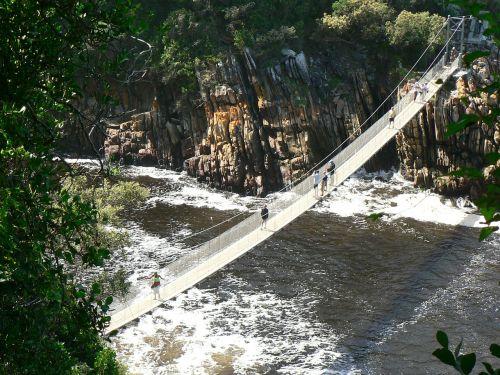 kabantis tiltas,tsitsikamma,nacionalinis parkas,pietų Afrika,kraštovaizdis,afrika