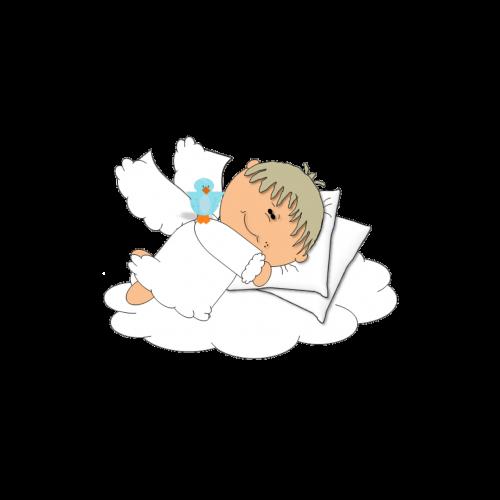 saldus,svajones,angelas,kūdikis,animacinis filmas,miegoti,laimingas,naktis,balta,mielas,poilsis,lova,jaunas,šventė,linksma,prieš miegą,pagalvė,fantazija