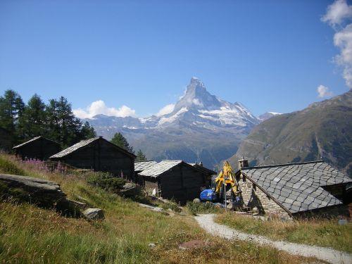 Šveicarija, Zermatt, Matterhorn, Namelis