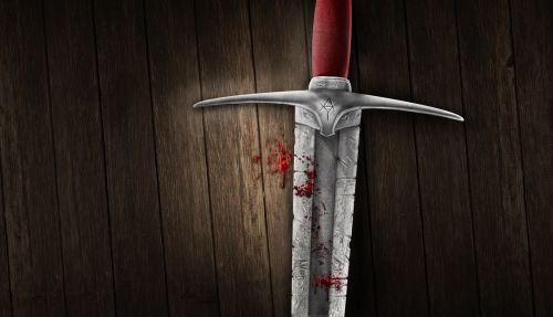 Kardas, Kraujas, Fonas, Viduramžių, Vaizdo Manipuliavimas, Photoshop, Alex, Viduramžiai, Karys, Kovoti, Kovoti