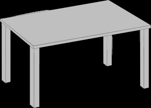 stalas,baldai,Svetainė,3d,Pietų stalas,nemokama vektorinė grafika