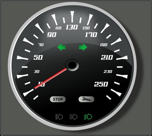 tachometras,gabaritas,valandą,kilometrai,mylios,greitis,spidometras,greitis,speedo,nemokama vektorinė grafika