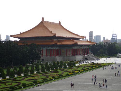 taipei,Taivanas,kinų pastatas,laisvės aikštė,Taivanas,architektūra,žinomas,turizmas