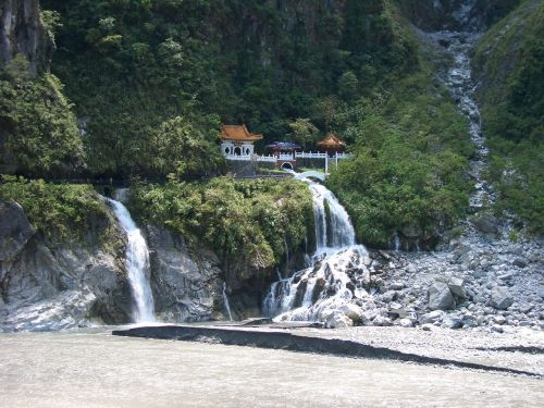 Taivanas,tarokko,krioklys