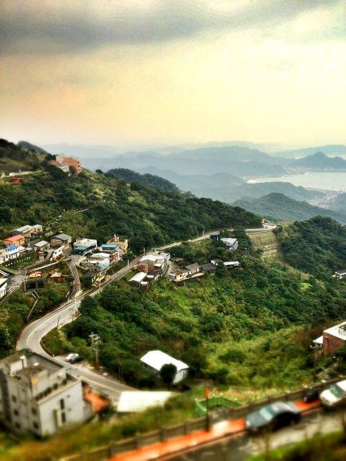 Taivanas,devyni,kraštovaizdis