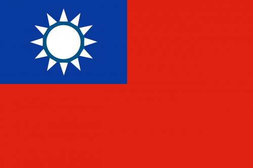 Taivanas,vėliava,Kinijos respublika,Taivanas,Šalis,nacionalinis,simbolis,nemokama vektorinė grafika