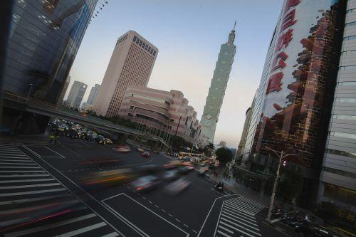 Taivanas,asija,Kinija,taipei,taipei 101,miestas,pastatai,eismas,automobiliai,dviračiai,užsiėmes,perėjimas,Taivanas,miesto,kelionė,kraštovaizdis