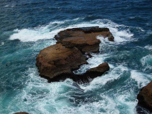 Taivanas,kraštovaizdis,kranto,Rokas