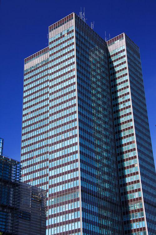 architektūra, mėlynas, pastatas, pastatai, verslas, miestas, statyba, įmonės, turtas, stiklas, aukštas, šiuolaikiška, biuras, dangus, dangoraižis, plienas, aukštas, bokštas, miesto, langai, aukštas biuro pastatas