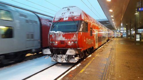 mokesčio automobilis,vietinis traukinys,austria,öbb,geležinkelis,traukinys,dviaukštės automobiliai,Wien praterstern,86-33,keleivinis traukinys,regioninis traukinys