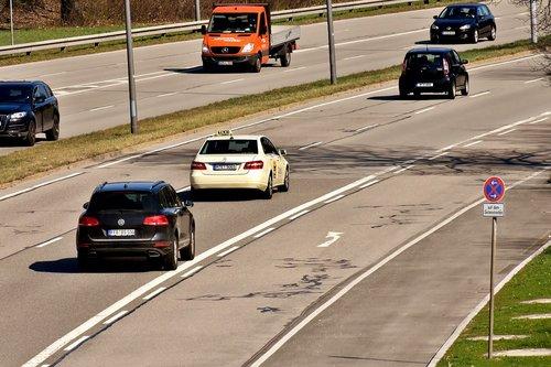 taksi, kelių, eismo, automatinis, vairuoti, skydas, geležinkelio transporto, transportas, transporto priemonės, transporto priemonės, Miunchenas, miestas