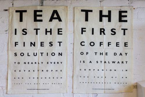 plakatas,dizainas,arbata,kava,raidės,raidės,oftalmologas,akių skausmas,patikrinti,akys,lenta,abėcėlės raidės