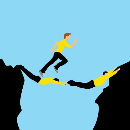 tiltas, verslininkas, koncepcija, bėgimas, komandinis darbas, paleisti, lauke, asmuo, bendradarbis, tikėjimas, energija, tirpalas, iššūkis, pasiekimas, pastangos, galia, vyrai, partnerystė, kartu, pasitikėjimas, rizika, pasiekimas, galimybė, komanda, bendradarbiavimas, komandinis darbas