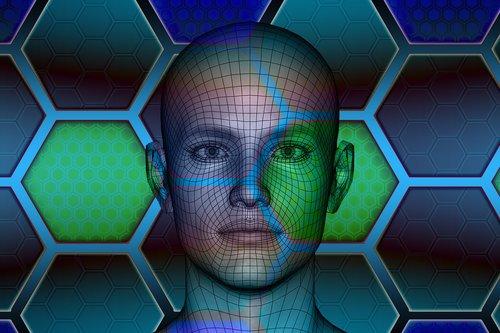 technologijos, žmogus, veidas, protingas, informacijos, žmogus, Nemokama iliustracijos