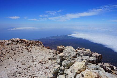 teide,pico del teide,aukščiausiojo lygio susitikimas,vulkaninis krateris,krateris,vulkanas,siera,sieros garai,lava,lavos laukas,vulkaninis,teyde,Teide nacionalinis parkas,Tenerifė,Kanarų salos
