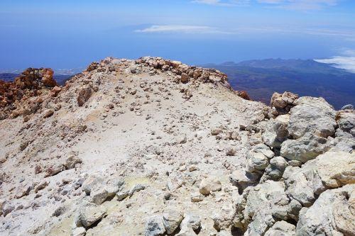 teide,perspektyva,vaizdas,tolimas vaizdas,geras vaizdas,rūkas,kranto,Tenerifė,sala,pico del teide,aukščiausiojo lygio susitikimas,vulkaninis krateris,krateris,vulkanas,vulkaninis,teyde,Teide nacionalinis parkas,Kanarų salos,la ropliai