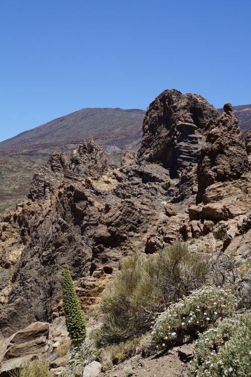 Teide nacionalinis parkas,Nacionalinis parkas,Rokas,uolienos formacijos,Tenerifė,Kanarų salos,teide,nacionalinis parkas teide,Ispanija,gamta,kalnas,vulkanas,kraštovaizdis,žygis,užteršimas,Karg